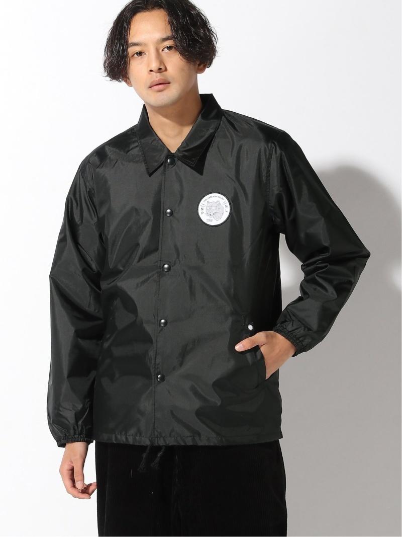 PLAYDESIGN (U)CC COACH JK プレイデザイン コート/ジャケット ナイロンジャケット ブラック ネイビー【送料無料】