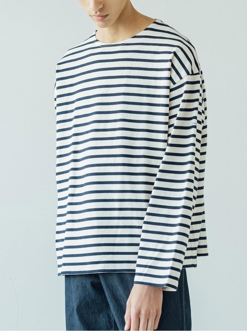 Bshop メンズ カットソー ビショップ ORCIVAL コットンロード BIGTシャツ グレー 商品追加値下げ在庫復活 ネイビー 送料無料 入手困難 Tシャツ ホワイト MEN