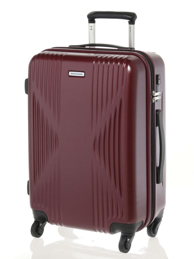 World Traveler ワールドトラベラー/クリアウォーター スーツケース ジッパータイプ サイレントキャスター 3ー4泊程度の旅行に 40リットル 04062 エース【送料無料】