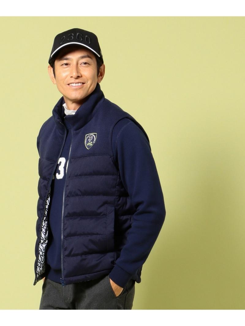 23区GOLFMENS リバーシブルベスト ニジュウサンクゴルフ コート/ジャケット【送料無料】