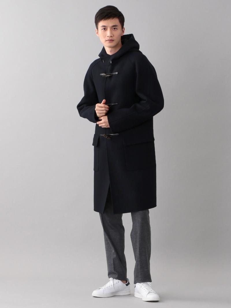 SANYO <Double Faced Coat>ウールリバーラグランダッフルコート サンヨー コート/ジャケット【送料無料】