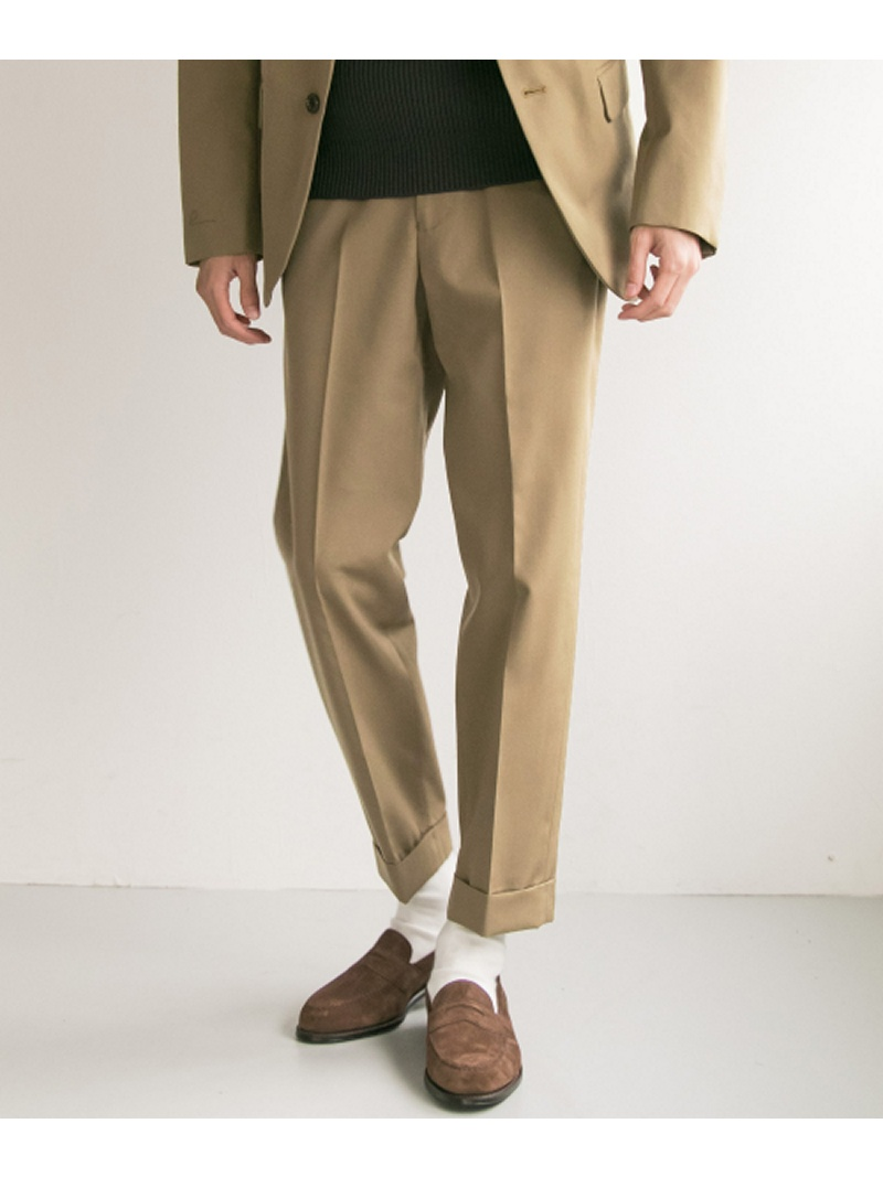 【SALE/40%OFF】URBAN RESEARCH FREEMANS SPORTING CLUB JP WOOL GABA BASIC TROUSER アーバンリサーチ パンツ/ジーンズ【RBA_S】【RBA_E】【送料無料】