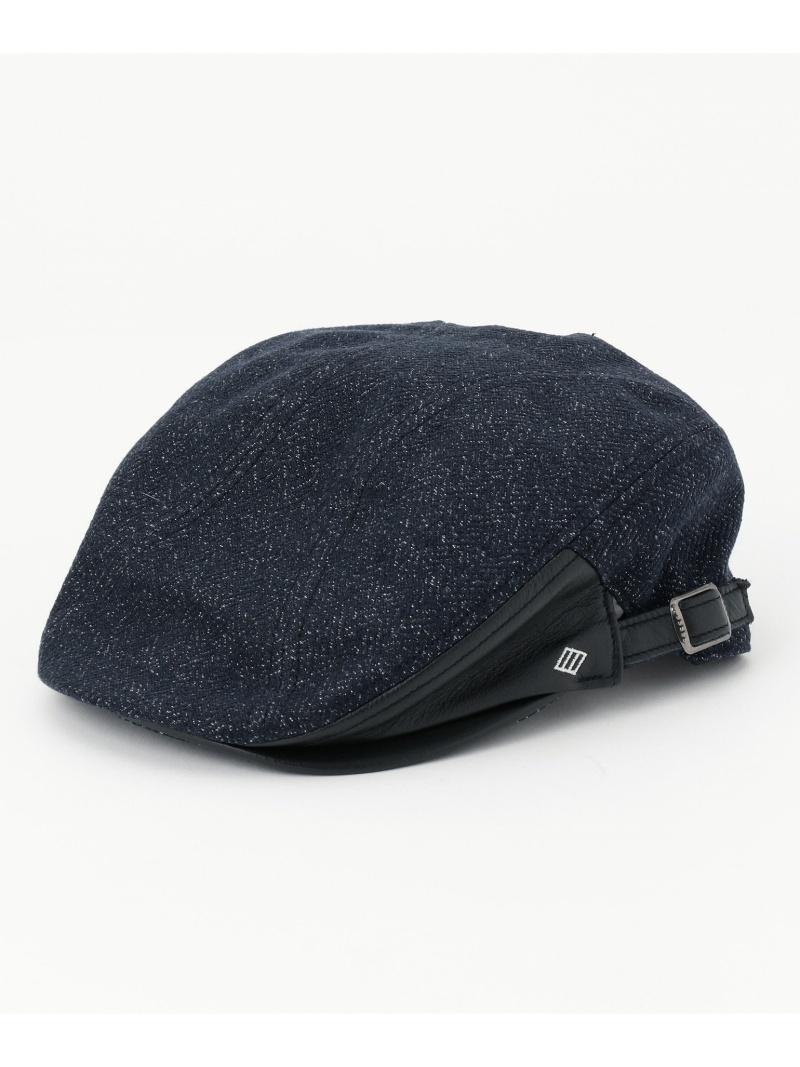 JOSEPH ABBOUD ハイパワーテクノツイード ハンチング ジョセフアブード 帽子/ヘア小物【送料無料】