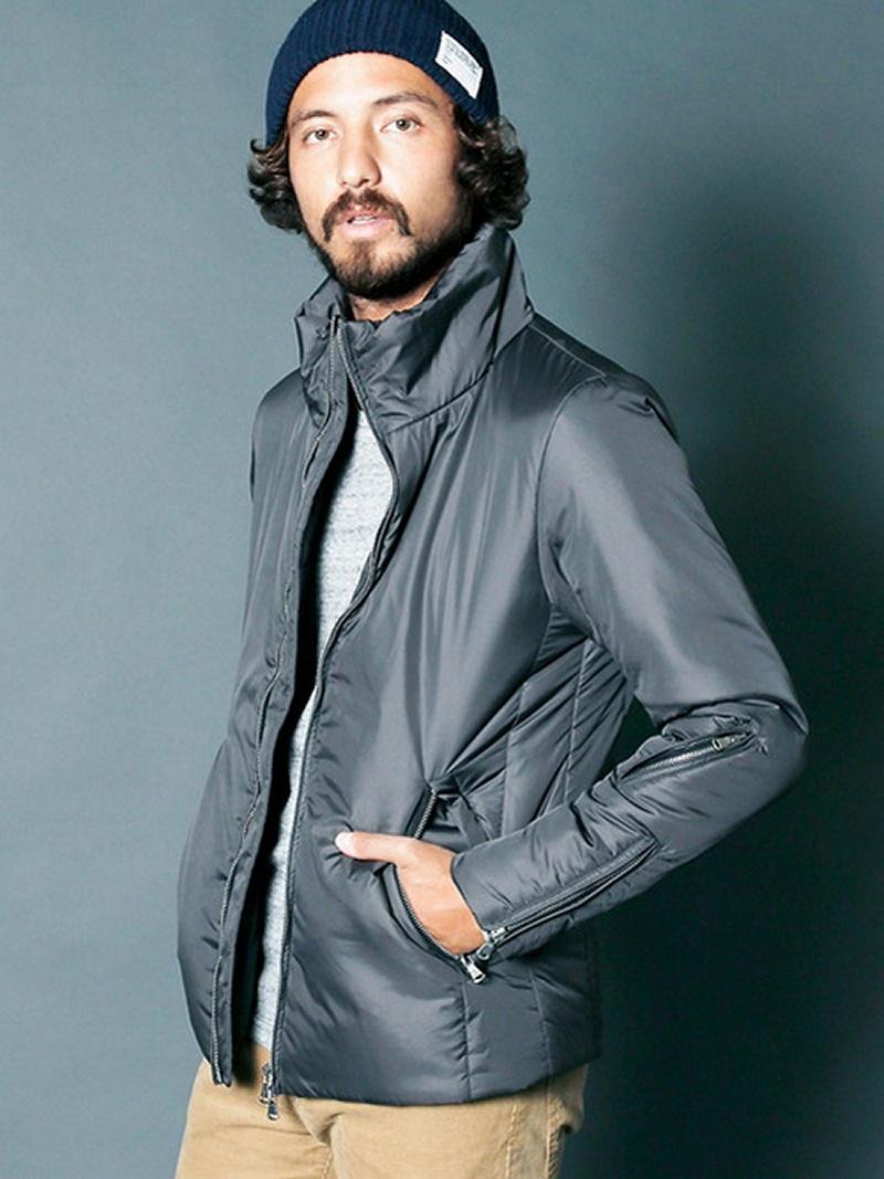 【SALE/22%OFF】NYLON THINSULATE STAND RIDER JKT マージン コート/ジャケット【RBA_S】【RBA_E】【送料無料】