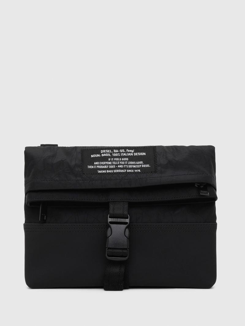 DIESEL メンズ バッグ ディーゼル SALE 爆買いセール 海外輸入 20%OFF ブラック ECHINO バッグその他 送料無料 RBA_E