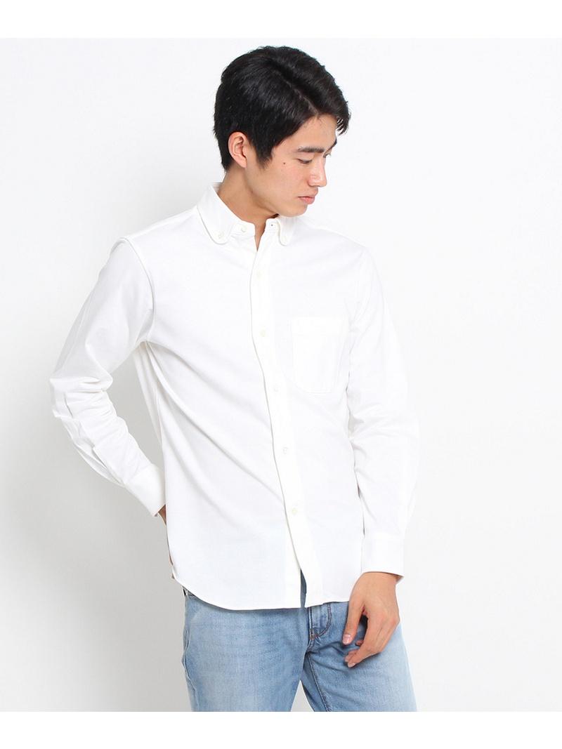 DRESSTERIOR(Men) 【洗える】ジャージボタンダウンシャツ ドレステリア シャツ/ブラウス【送料無料】