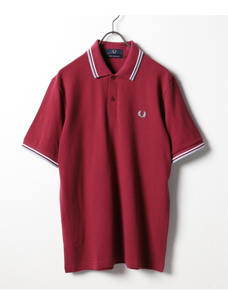 JOURNAL STANDARD FRED PERRY M12 ジャーナル スタンダード カットソー ポロシャツ ピンク ブラック ネイビー ホワイト ブルー【送料無料】