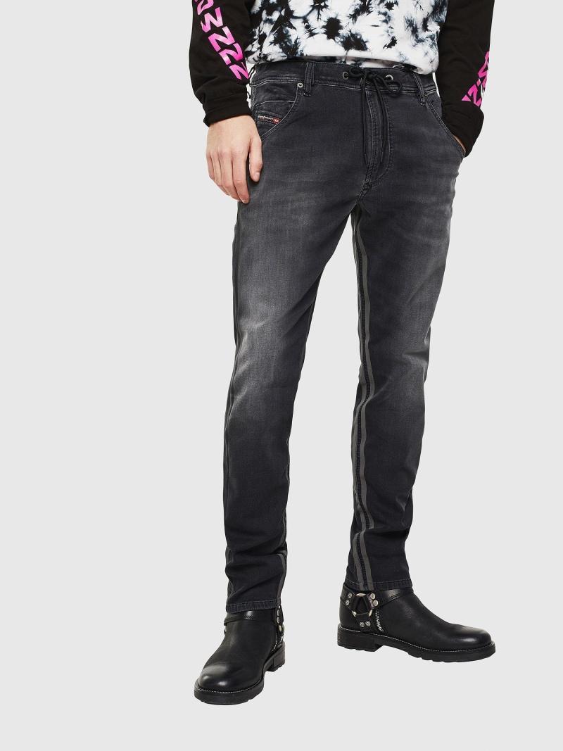 DIESEL KrooleyJoggJeans0094Q ディーゼル パンツ/ジーンズ フルレングス ブラック【送料無料】