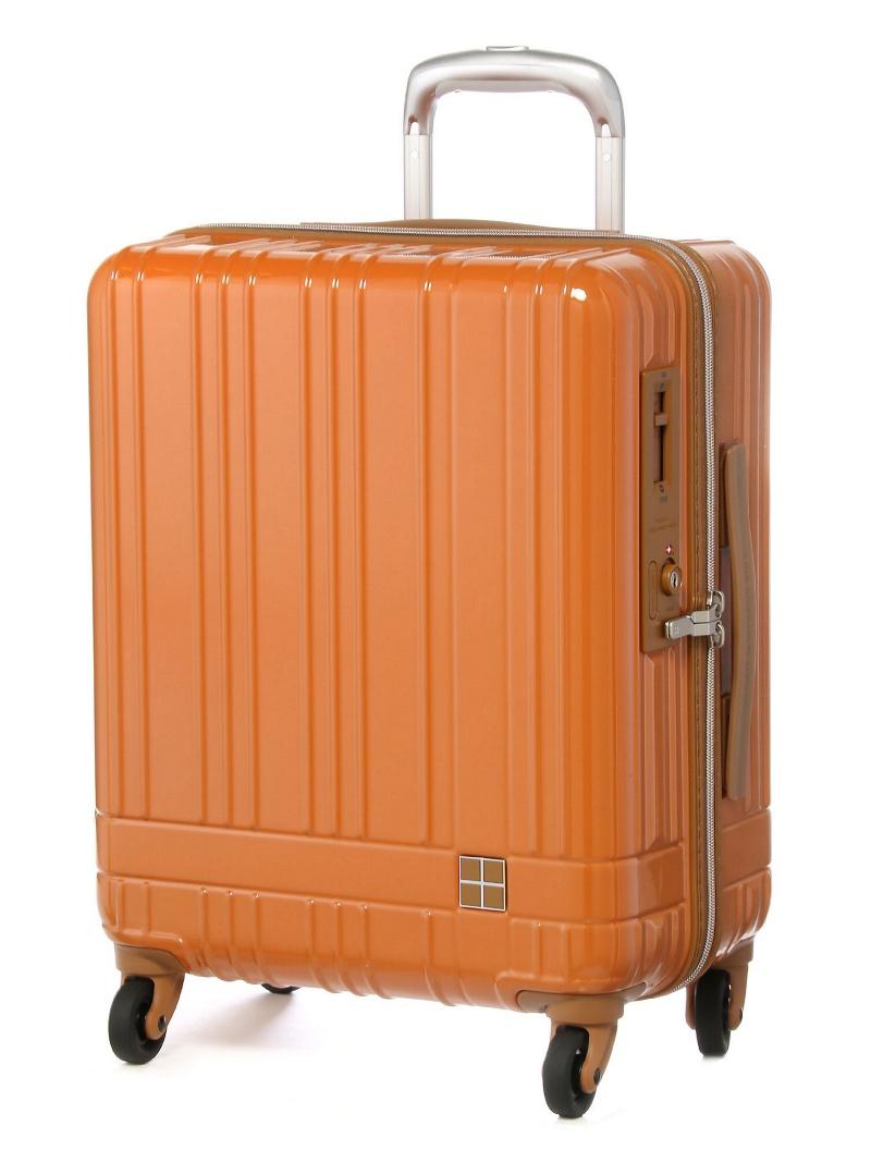 hands+ hands+/ライトスーツケース ジップタイプ 39L オレンジ トウキュウハンズ バッグ【送料無料】
