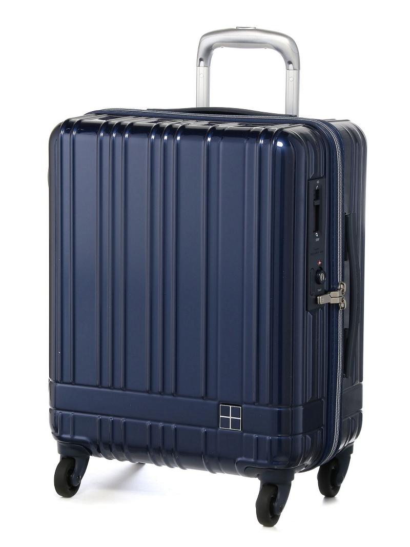hands+ hands+/ライトスーツケース ジップタイプ 39L ネイビーブルー トウキュウハンズ バッグ【送料無料】