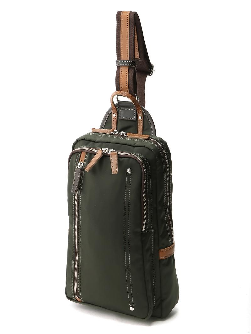 Otias (M)オティアス Otias/高密度ナイロンタテ型ボディバッグL アンビリオン バッグ【送料無料】
