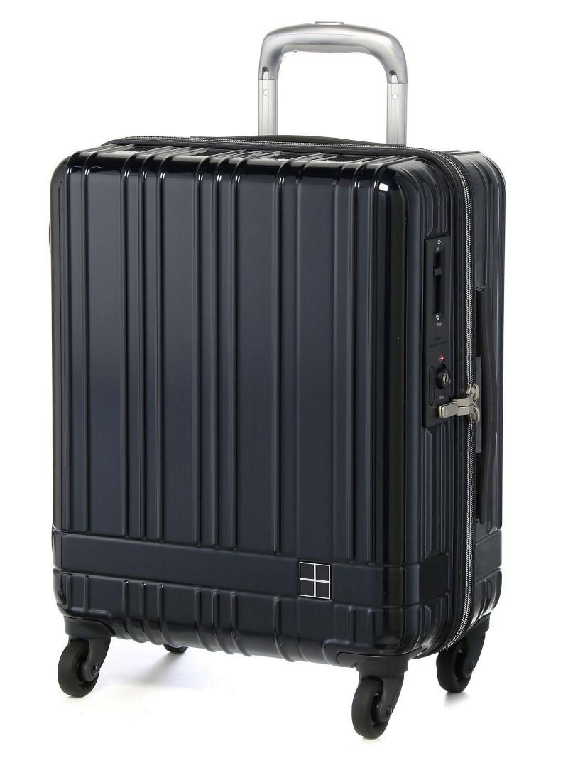 hands+ hands+/ライトスーツケース ジップタイプ 39L ミッドナイトブ トウキュウハンズ バッグ【送料無料】