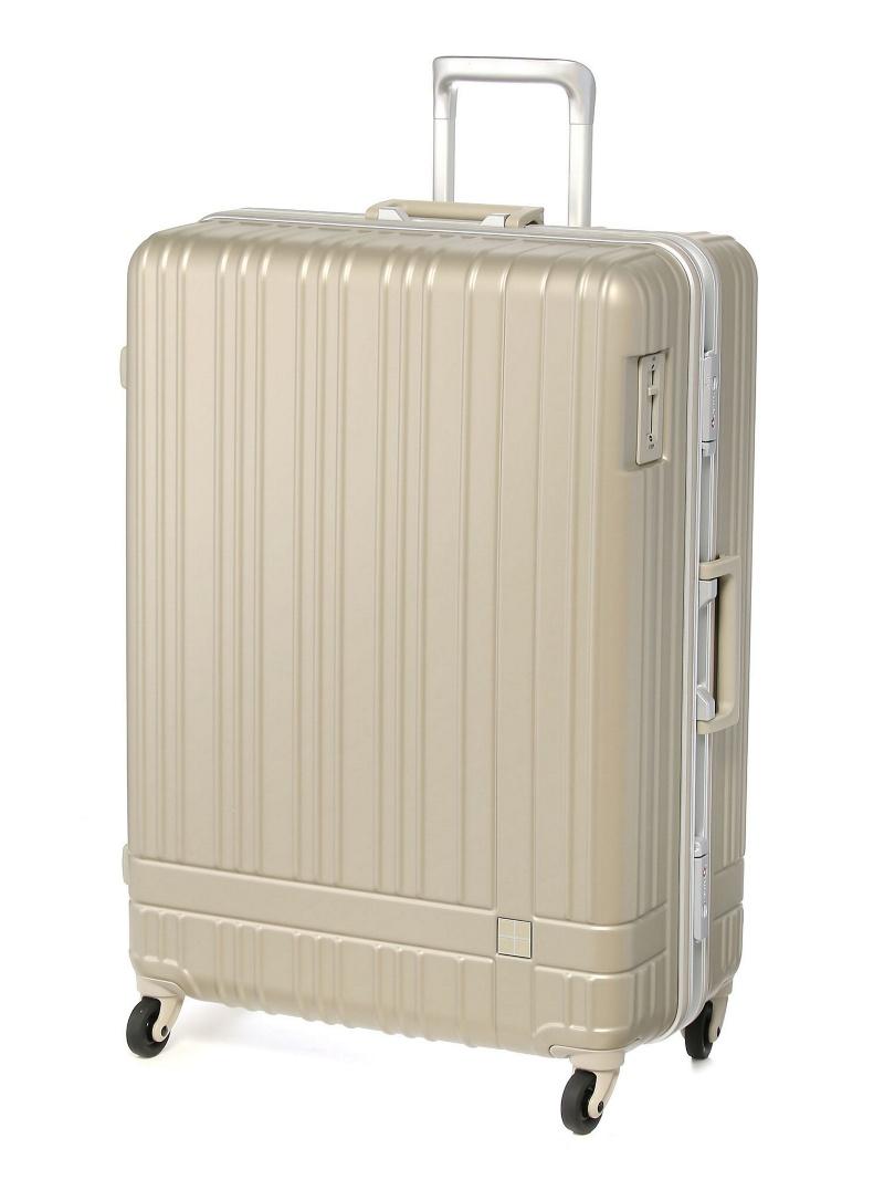 hands+ hands+/ライトスーツケース フレーム 92L シャンパンシルバー トウキュウハンズ バッグ【送料無料】