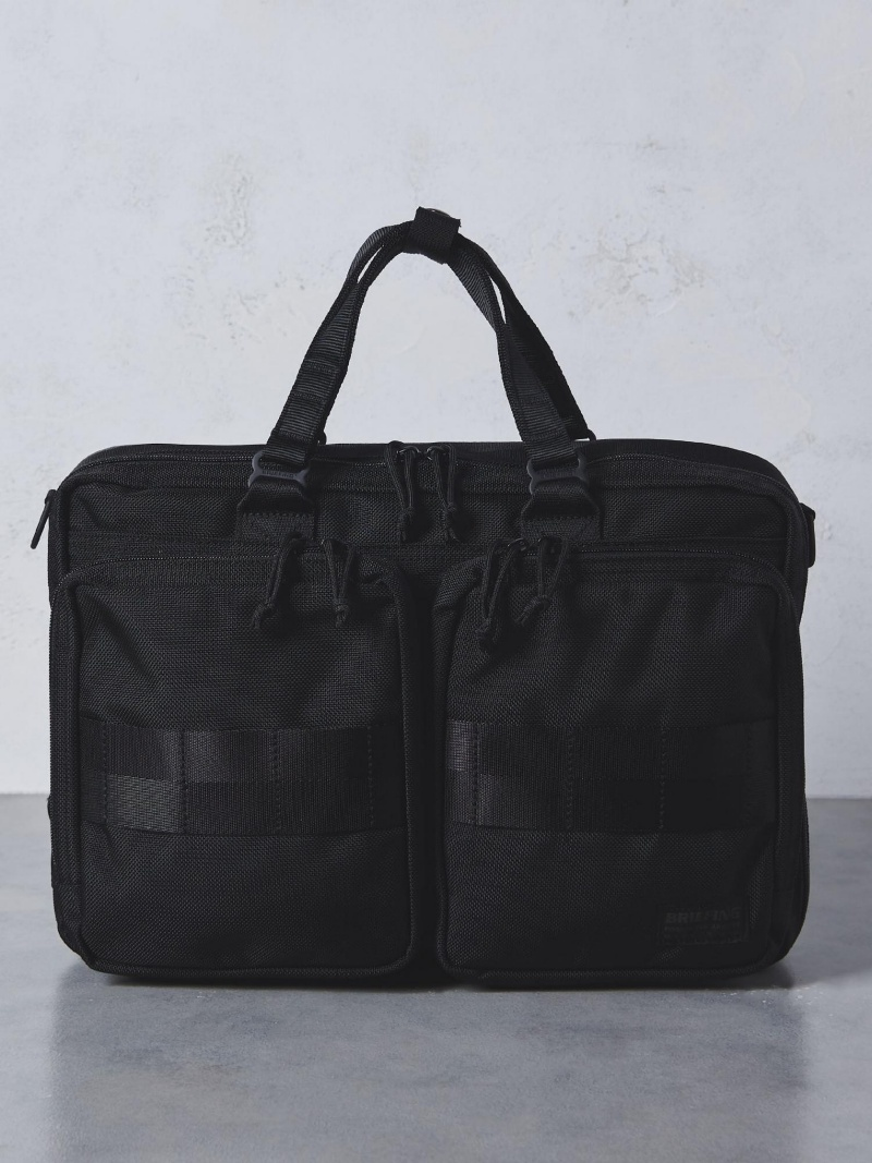 UNITED ARROWS 【別注】BRIEFING(ブリーフィング) A4 3WAY BRF † ユナイテッドアローズ バッグ【送料無料】