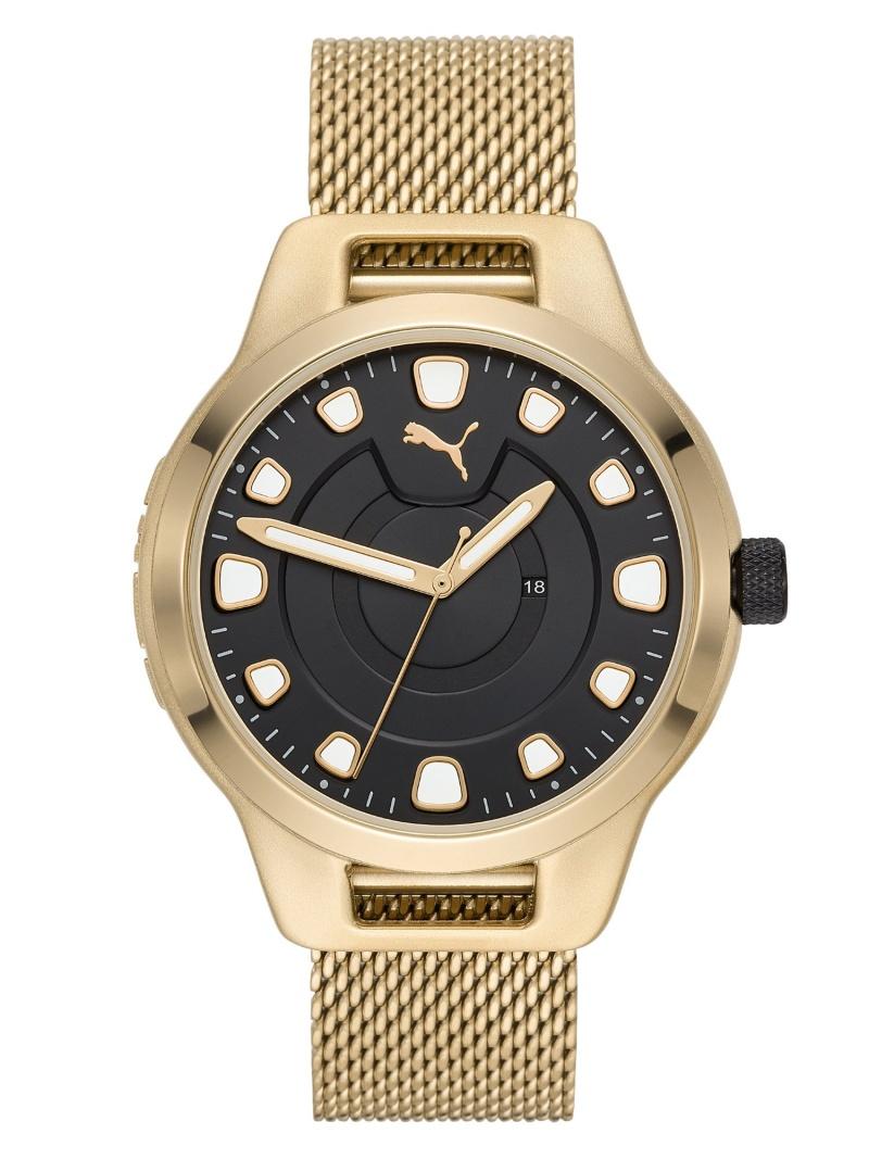 PUMA PUMA/(M)RESET V1_P5006 ウォッチステーションインターナショナル ファッショングッズ 腕時計 ブラック【送料無料】