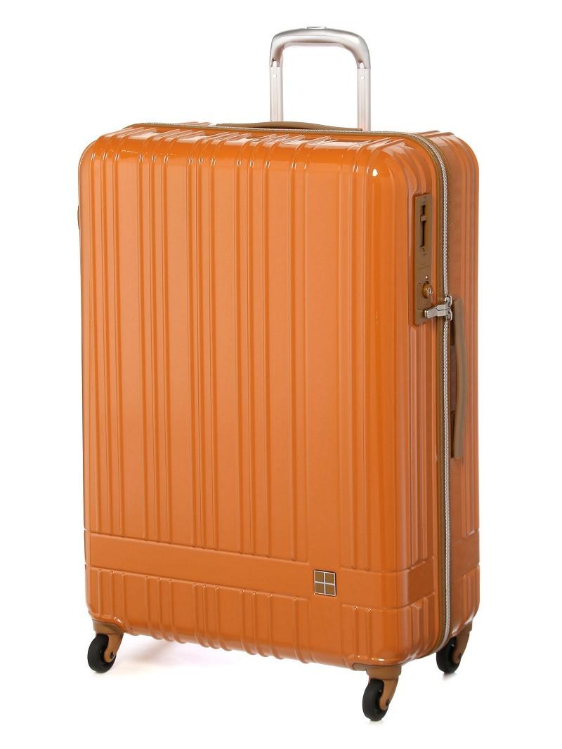hands+ hands+/ライトスーツケース ジップタイプ 90L オレンジ トウキュウハンズ バッグ【送料無料】