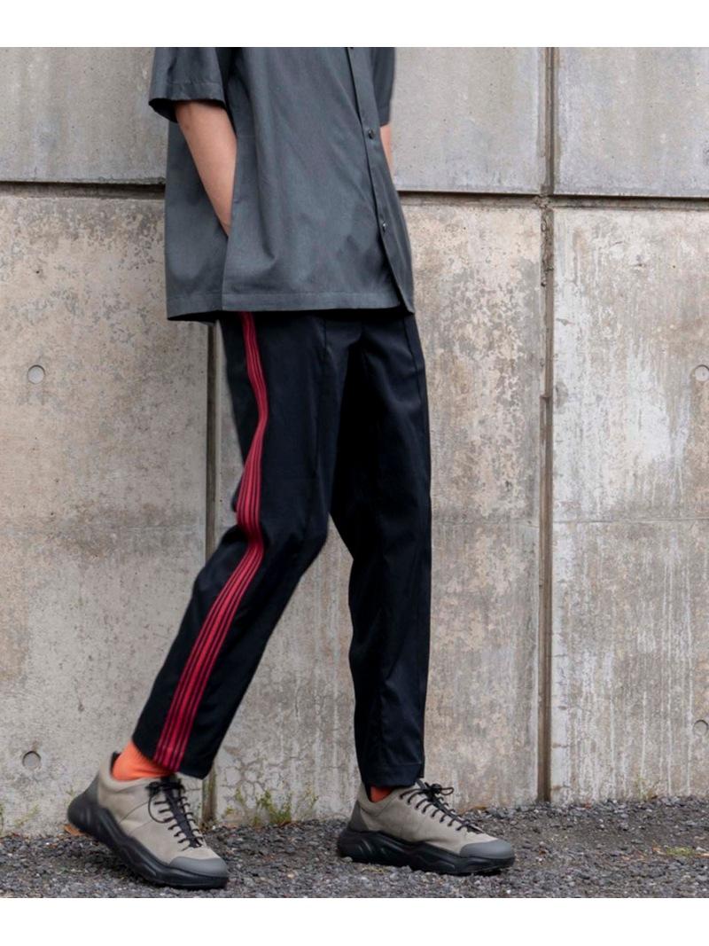 【SALE/20%OFF】MAISON SPECIAL (M)ニットラインジャージパンツ メゾンスペシャル パンツ/ジーンズ パンツその他 ブラック ネイビー【RBA_E】【送料無料】