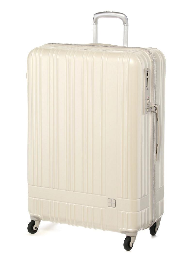 hands+ hands+/ライトスーツケース ジップタイプ 90L スパークリングシルバー トウキュウハンズ バッグ【送料無料】