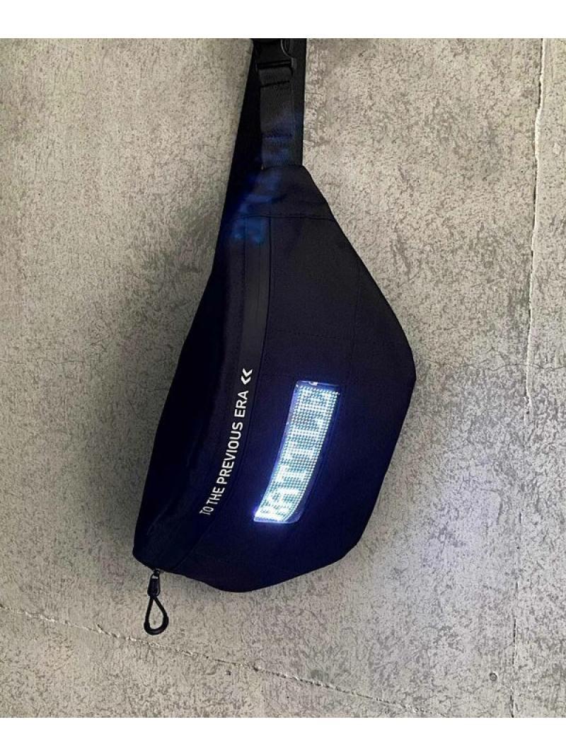 【SALE/20%OFF】RATTLE TRAP LEDライト搭載ボディバッグ メンズ ビギ バッグ バッグその他 ブラック【RBA_E】【送料無料】