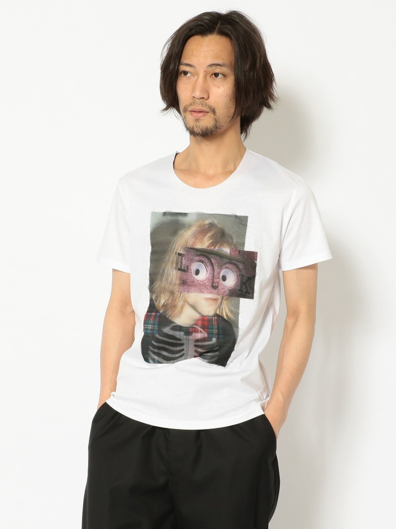 B'2nd MAXSIX(マックスシックス)LOOK3DTシャツ ビーセカンド カットソー Tシャツ ホワイト【送料無料】