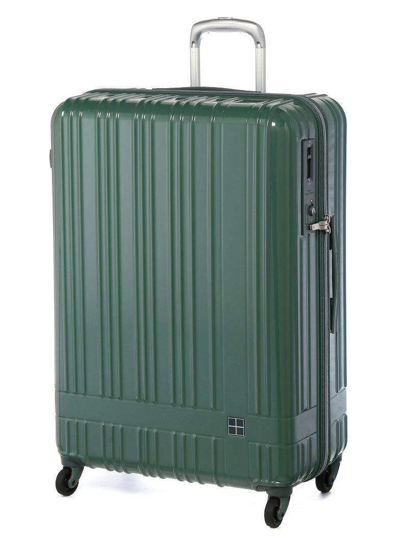 hands+ hands+/ライトスーツケース ジップタイプ 90L グリーン トウキュウハンズ バッグ【送料無料】