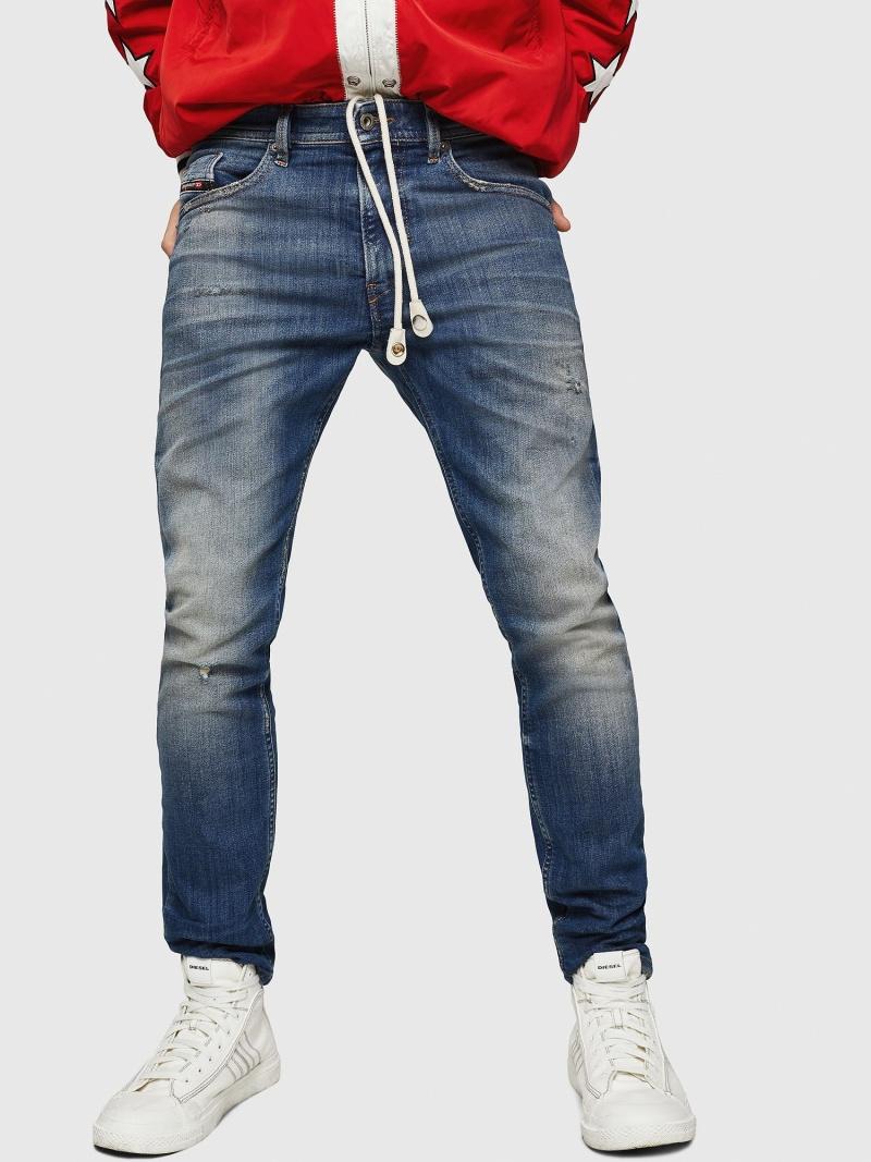 DIESEL Thommer JoggJeans 0870M ディーゼル パンツ/ジーンズ フルレングス【送料無料】