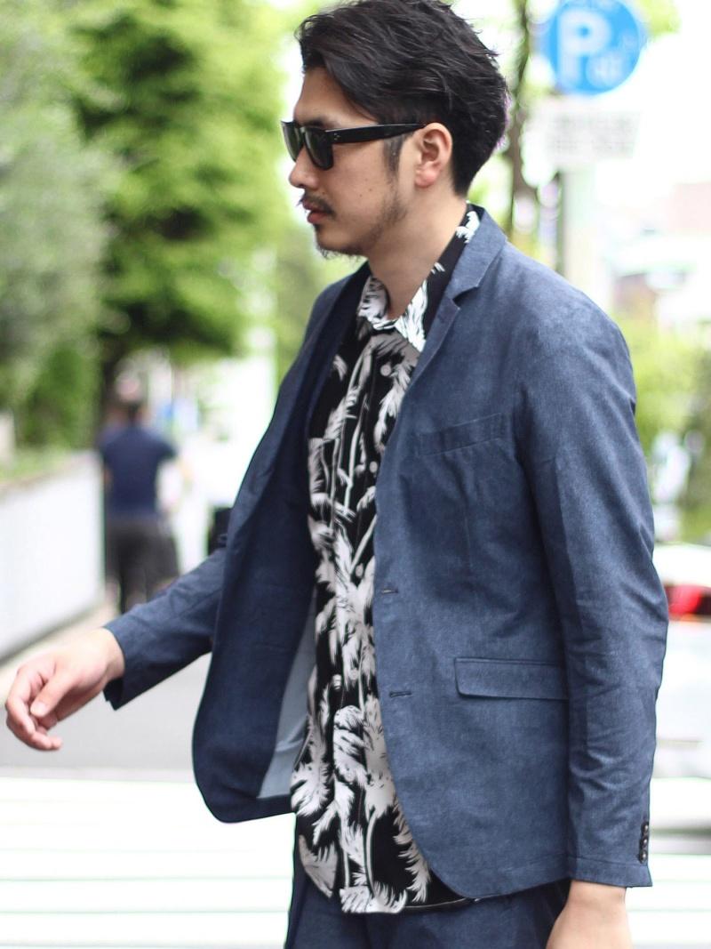 RATTLE TRAP シアサッカーセットアップジャケット メンズ ビギ コート/ジャケット【送料無料】