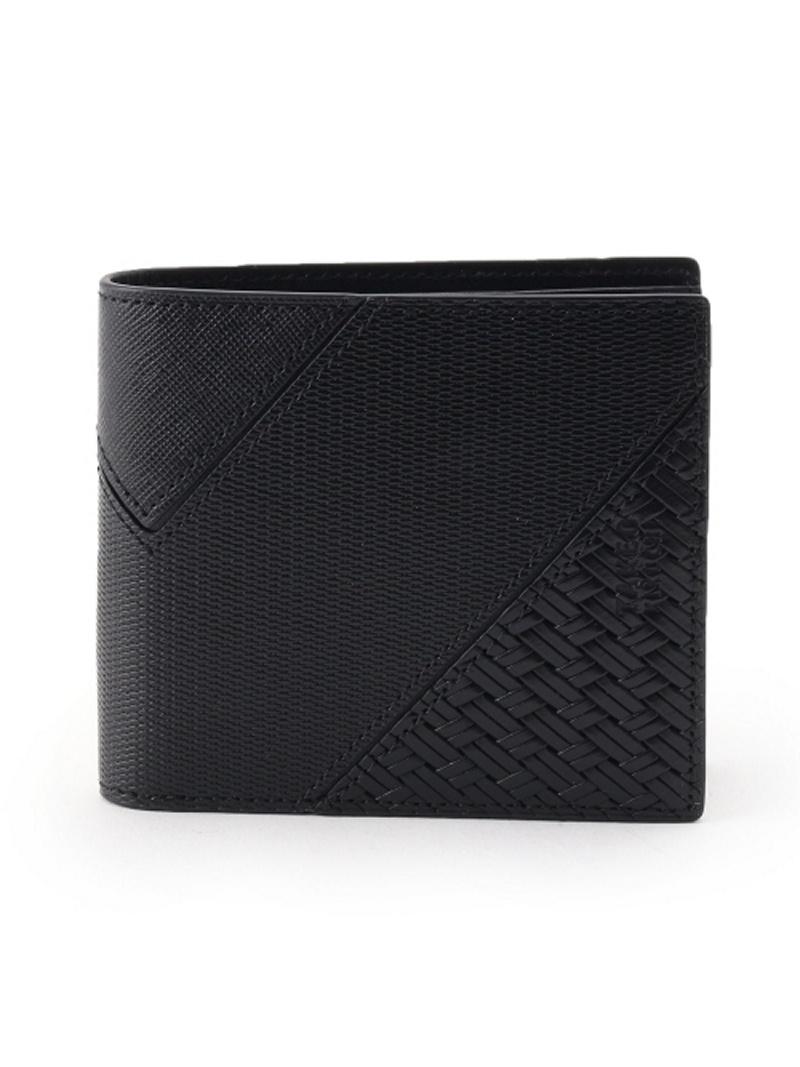 TAKEO KIKUCHI パッチワーク二つ折り 財布 [ メンズ ウォレット パッチワーク ギフト 折りたたみ ] タケオキクチ 財布/小物【送料無料】