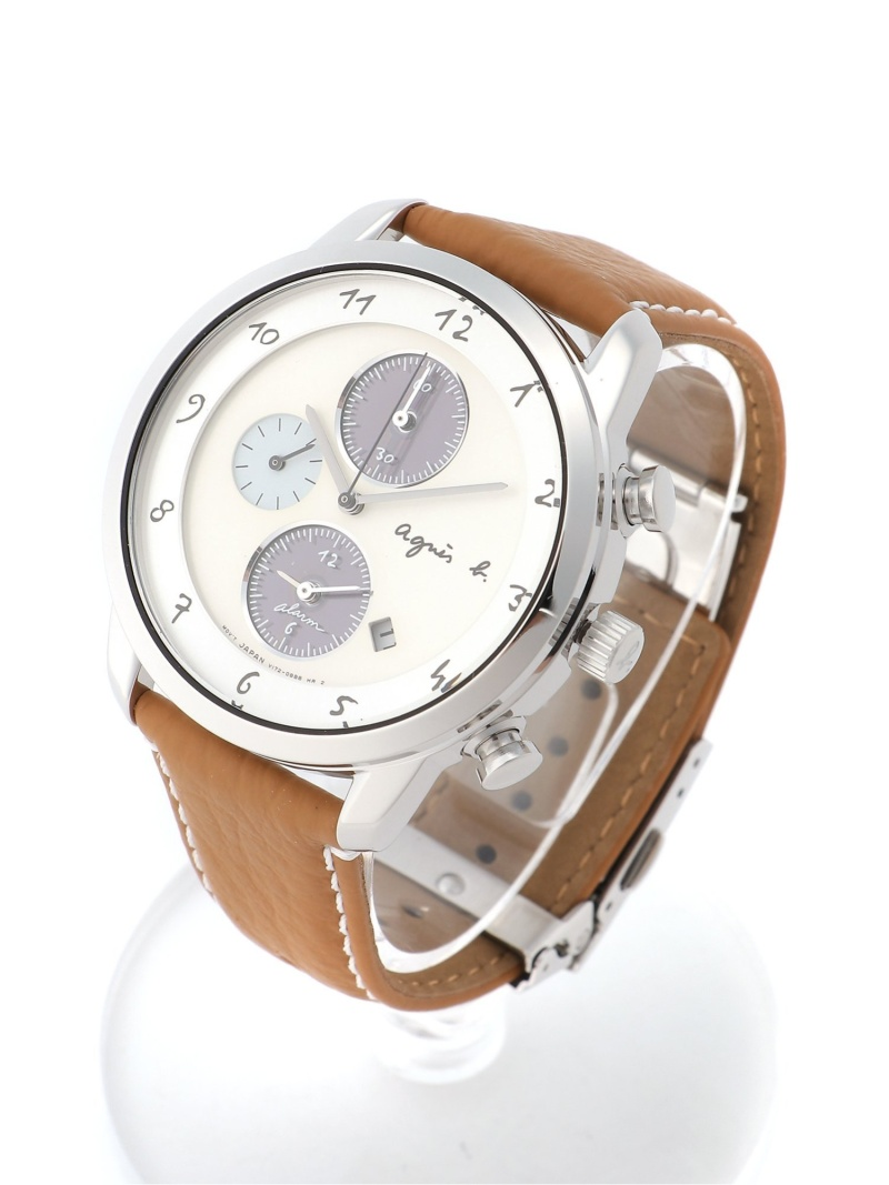 agnes b. HOMME HOMME/(M)LM02 WATCH FBRD973 時計 アニエスベー ファッショングッズ 腕時計 ブラウン【送料無料】