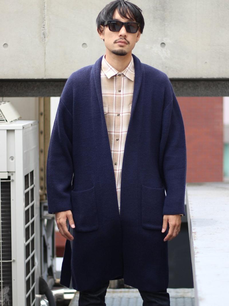 RATTLE TRAP ニットコーディガン<ロング丈、ガウン> メンズ ビギ ニット【送料無料】