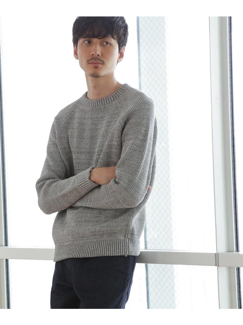 TAKEO KIKUCHI JACクルーネック コットン ニット [ メンズ トップス ニット ] タケオキクチ ニット【送料無料】