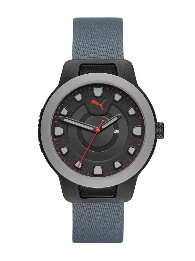 PUMA RESET V1 ウォッチステーションインターナショナル ファッショングッズ 腕時計 ブラック【送料無料】