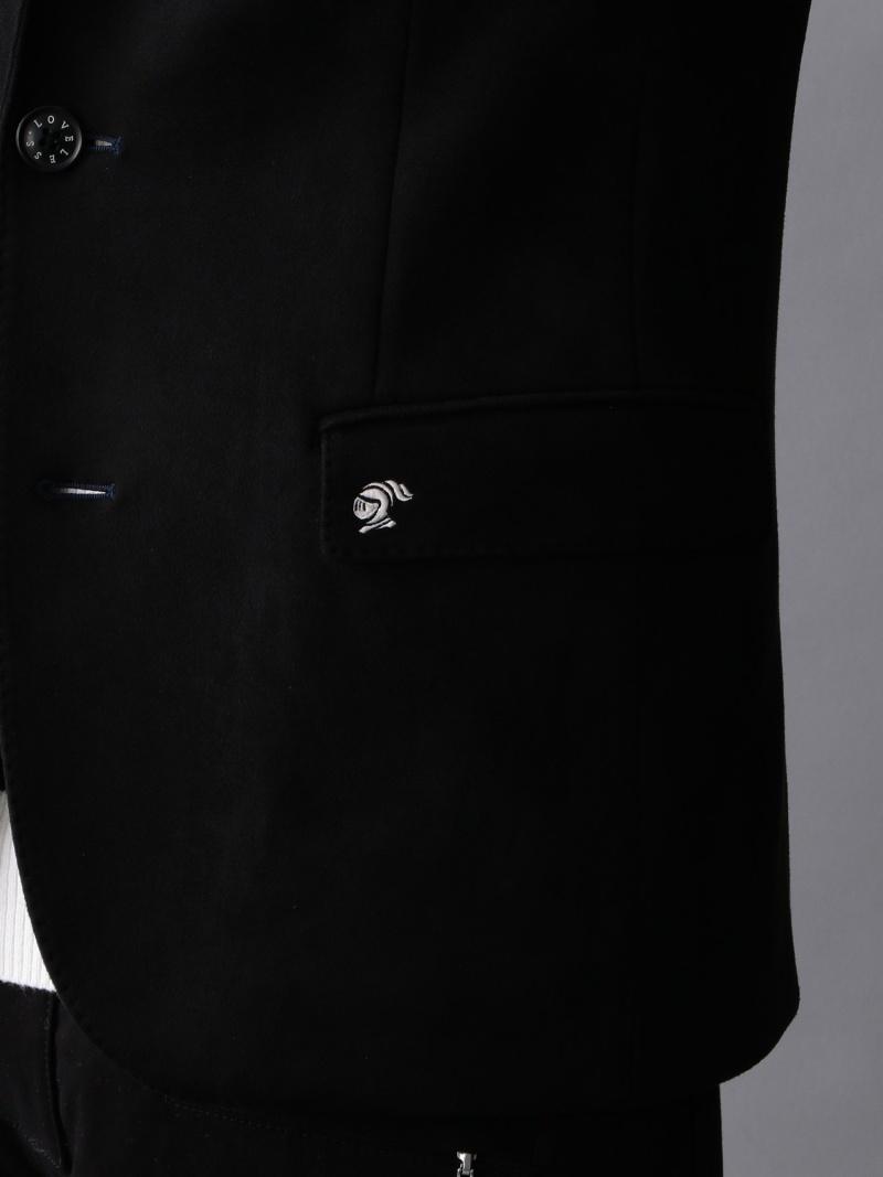 SALE 30 OFF LOVELESSLOVELESS スウェードライクカットソージャケット ラブレス コート ジャケット テーラードジャケット ブラック RBA E送料無料cq54L3ARjS
