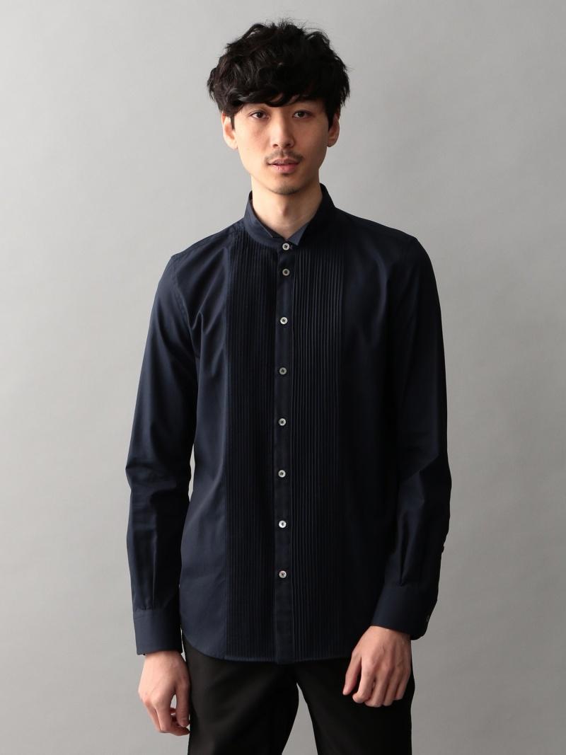 GUILD PRIME MENS フロントタックウィングカラーシャツ ギルドプライム シャツ/ブラウス【送料無料】