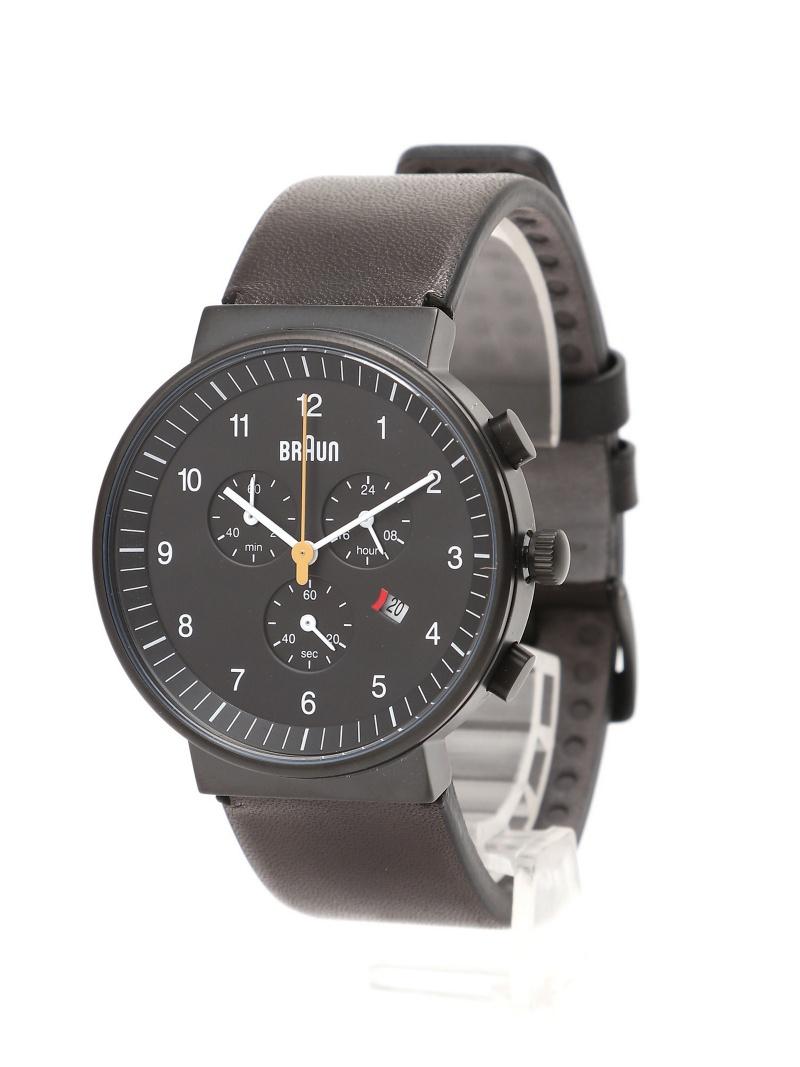 BRAUN (U)Watch (U)Watch ブラウン BN0035 Chronograph ブラウン ファッショングッズ【送料無料 BN0035】, しんくぁ:12559325 --- yoka.co.id