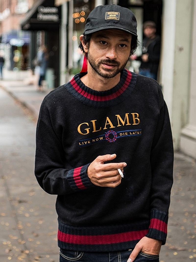 【SALE/10%OFF】glamb Karl knit グラム ニット【RBA_S】【RBA_E】【送料無料】
