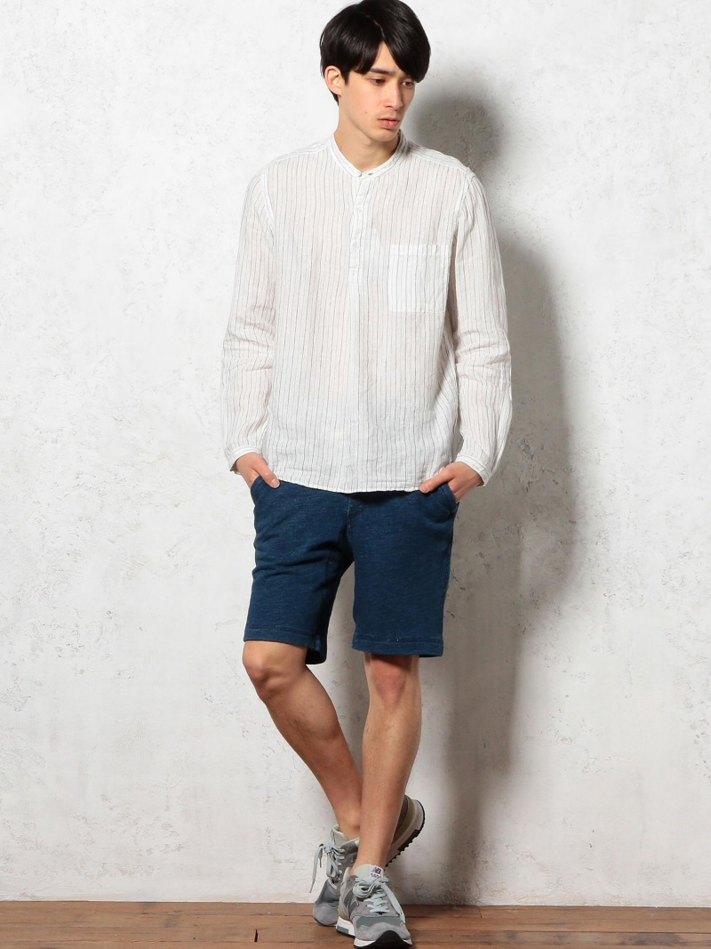 UNITED ARROWS green label relaxing SLUB/URAKE SWEAT短裤UNITED ARROWS绿色标签放松裤子/牛仔裤