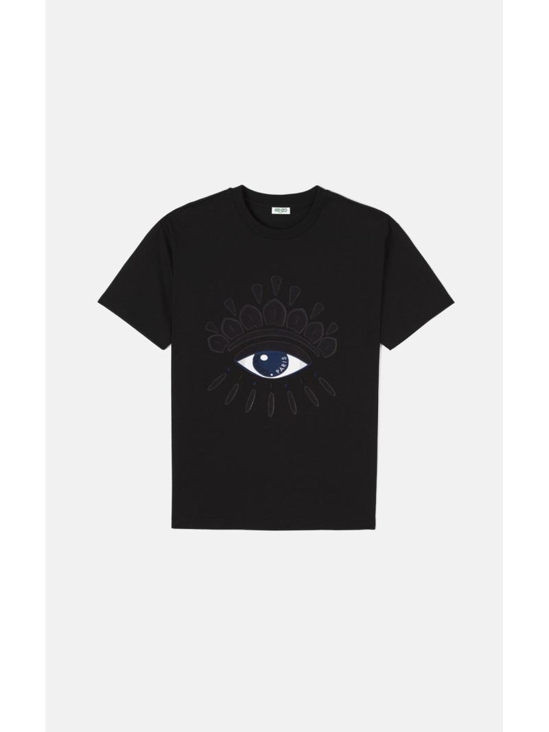 KENZO Tシャツ Eye ケンゾー カットソー Tシャツ ブラック【送料無料】