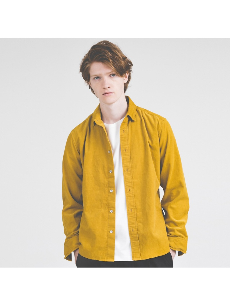 ABAHOUSE コーデュロイワイヤーシャツ【予約】 アバハウス シャツ/ブラウス【先行予約】*【送料無料】
