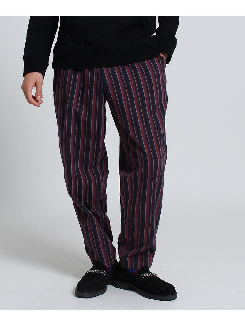 TAKEO KIKUCHI SOKTASマルチストライプイージーパンツ[ メンズ パンツ ネル ] タケオキクチ パンツ/ジーンズ【送料無料】