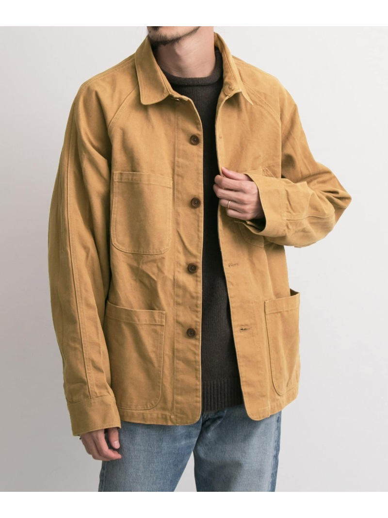 URBAN RESEARCH FREEMANS SPORTING CLUB JP US DUCK CHORE JACKET アーバンリサーチ コート/ジャケット【送料無料】
