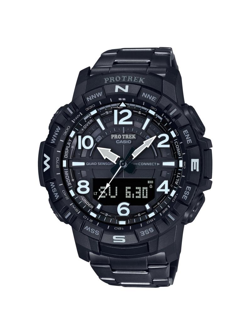 PRO TREK ClimberLine/スマートフォンリンク/チタンバンド/PRT-B50YT-1JF カシオ ファッショングッズ 腕時計 ブラック【送料無料】