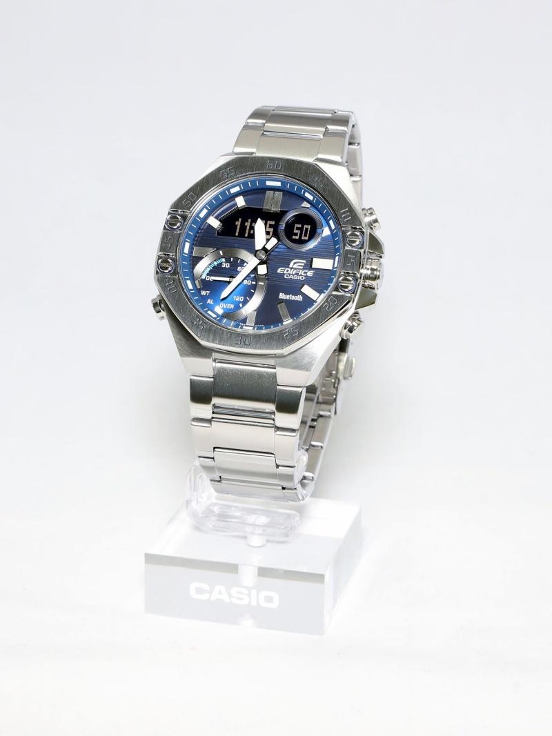 EDIFICE スマートフォンリンクモデル/ECB-10YD-2AJF カシオ ファッショングッズ 腕時計 ブルー【送料無料】