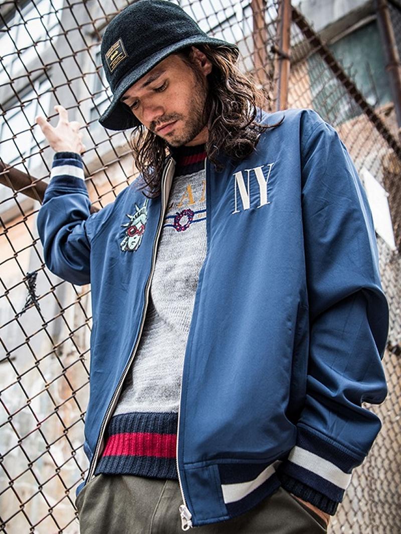 【SALE/10%OFF】glamb NY stadium JKT グラム コート/ジャケット【RBA_S】【RBA_E】【送料無料】