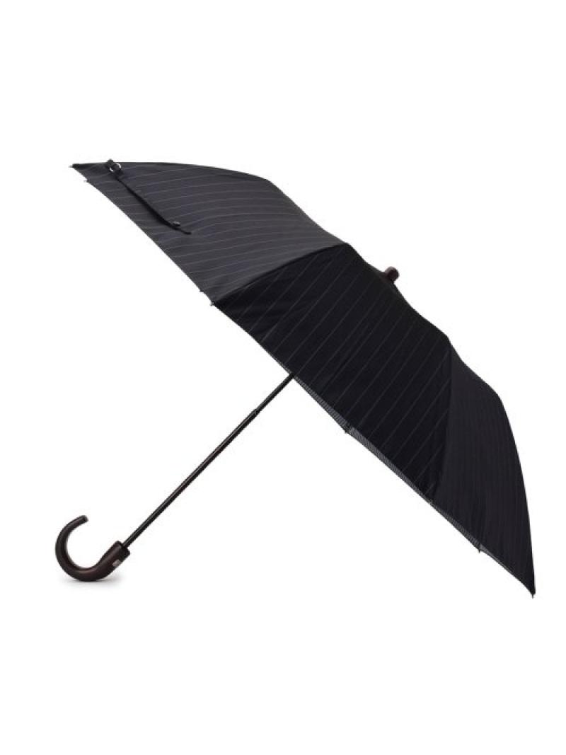TAKEO KIKUCHI Wフェイスストライプ折傘 タケオキクチ ファッショングッズ【送料無料】