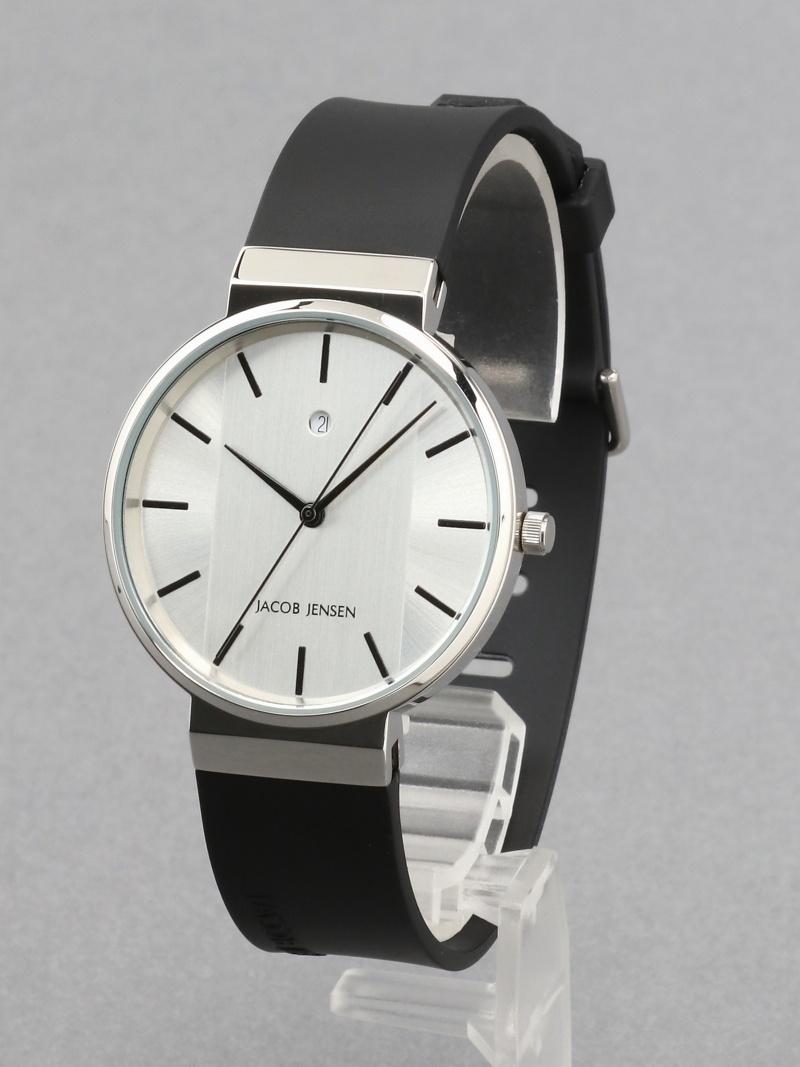 JACOB JENSEN (U)NEW(737) ヤコブ イェンセン ファッショングッズ 腕時計 シルバー【送料無料】