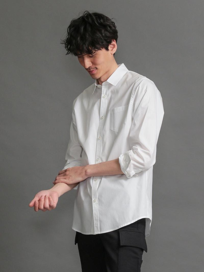LOVELESS 【LOVELESS】MENはっ水ブロードシャツ ラブレス シャツ/ブラウス 長袖シャツ ホワイト ブルー ネイビー【送料無料】