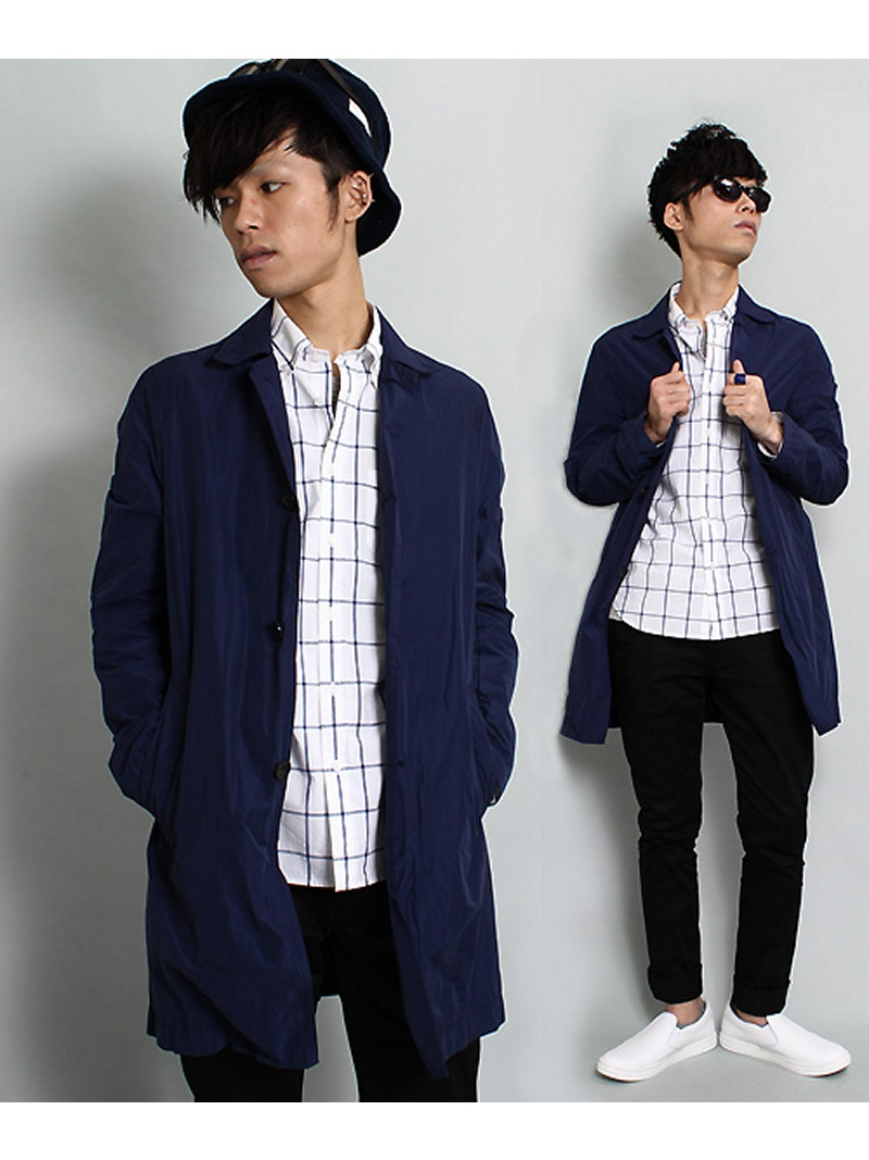 ESSENTIAL GARMENT MEN'S BIGI*十彩色大衣(WASH加工)menzubigikoto/茄克