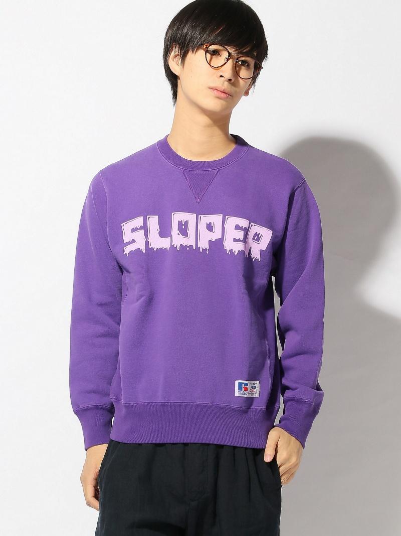 SLOPER SLOPER/(M)ラッセルPROCOTTONウラキモウトレーナー サンコーバザール カットソー【送料無料】