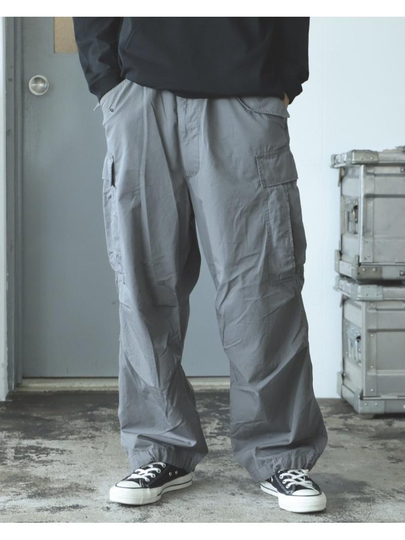 BEAMS MEN BEAMS / FINX(R)ビッグ 6ポケット カーゴパンツ ビームス メン パンツ/ジーンズ フルレングス ベージュ カーキ【送料無料】